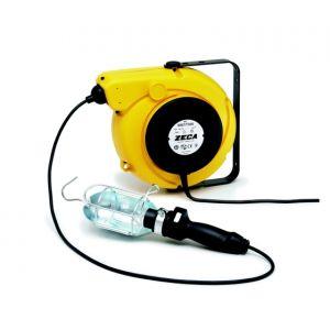 Avvolgicavo con lampada portatile 230 Volt