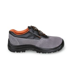 Scarpe antinfortunistiche BETA 7246BK in pelle traforata scamosciate