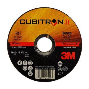 Conf. da 25 dischi da taglio CUBITRON 115x1