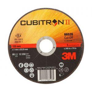 Conf. da 25 dischi da taglio CUBITRON 125x1