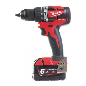 TRAPANO AVVITATORE A PERCUSSIONE BRUSHLESS 18V 5AH MILWAUKEE M18 CBLPD-502C