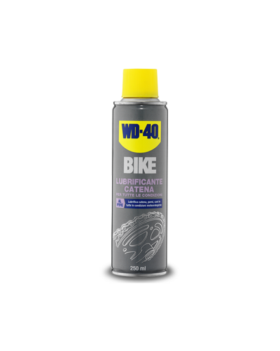 Lubrificante catena bike wd40 da 250ml