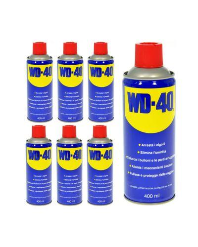Confezione n° 6 bombolette spray WD 40 400 ml